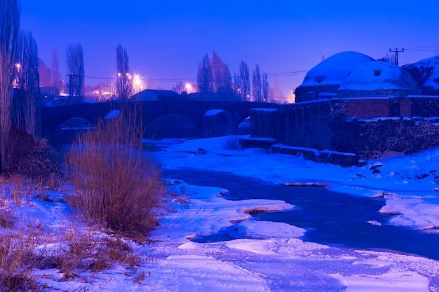 Muradiye hammam in kars, turkije.