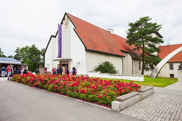 Museum in oslo Premium Foto