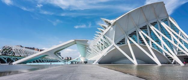 Museum voor natuurwetenschappen in valencia, spanje