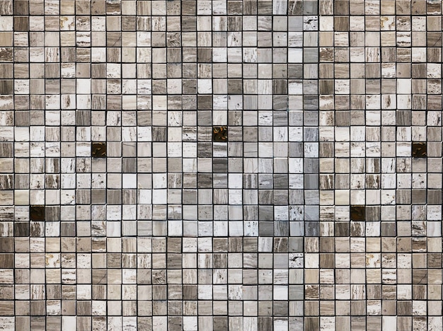 Muur achtergrond. geometrisch vierkant marmeren steenpatroon voor modern interieur.