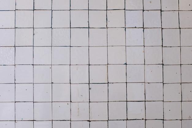 Muur met oud mozaïek. achtergrond voor ontwerp. hoge kwaliteit foto