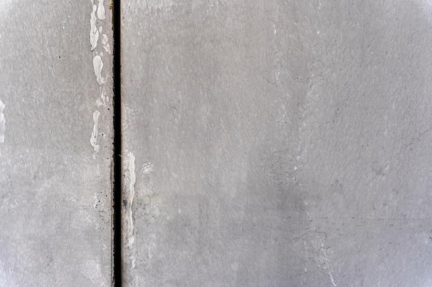 Muur met verticale donkere lijn