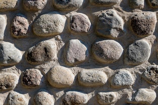 Muur van natuursteen. bakstenen muur textuur.