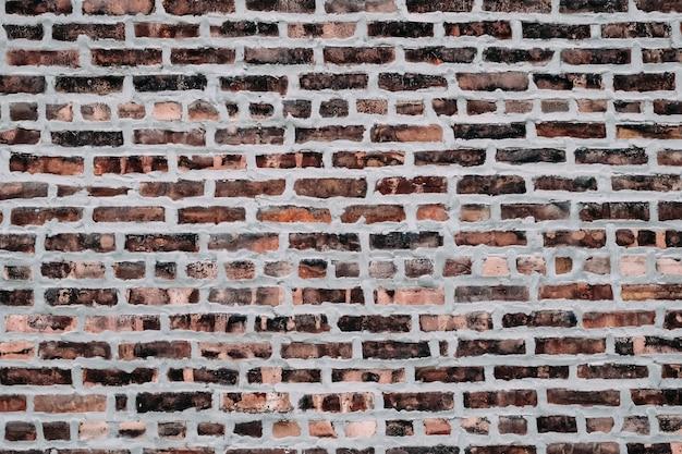 Muur van oude bakstenen