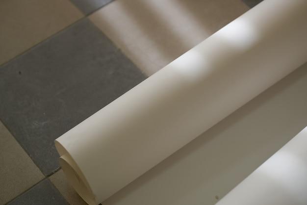 Muurschildering verfroller gereedschap kamer renovatie