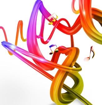 Muziek oppervlak