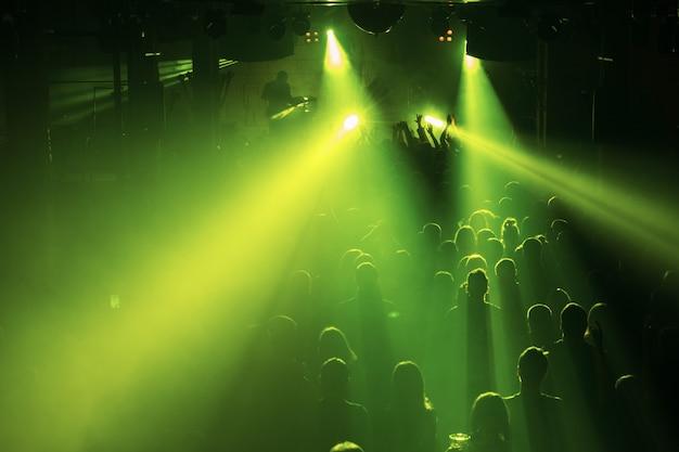 Muziekfestival of rockconcert
