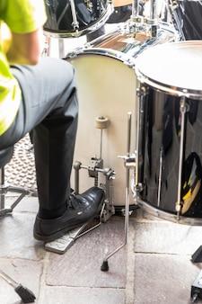 Muziekinstrumenten van een band