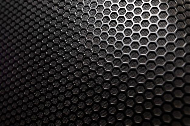 Muzikale krachtige luidspreker met een beschermend grillclose-up