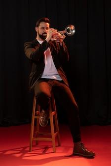 Muzikant viert jazzdag
