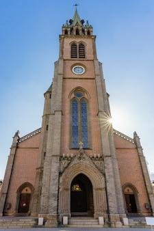 Myeongdong katholieke kathedraal in seoul