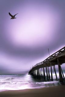 Myrtle beach pier zonsopgang pier