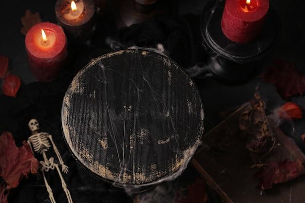 Mysterieuze halloween-achtergrond