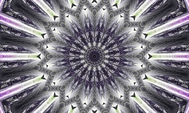 Mystieke grijze marmeren caleidoscoop op blauwe achtergrond. abstracte lijnen schilderen. marmeren aquarellen. zilver caleidoscoop kleur. wit gebrandschilderd glaskunst. marmeren textuur. verf gemengd