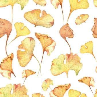 Naadloos bloemenhand getrokken geklets.