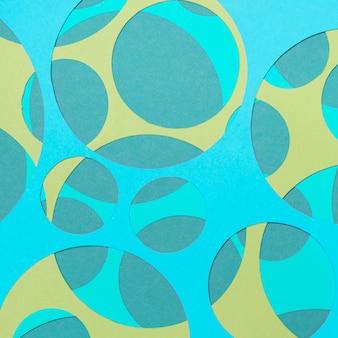 Naadloos geometrisch patroon met geweven elementen