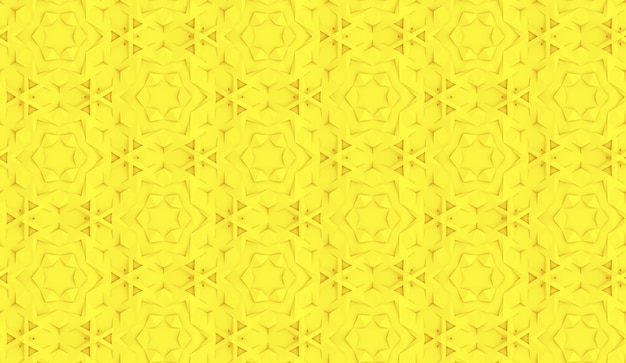 Naadloos patroon op basis van zeshoekig raster