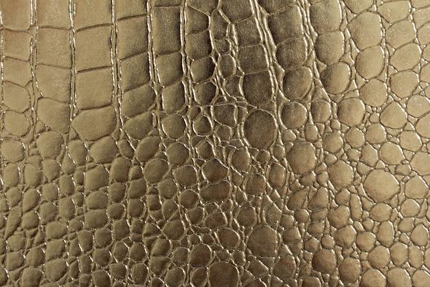 Naadloos patroon van krokodil geweven leer