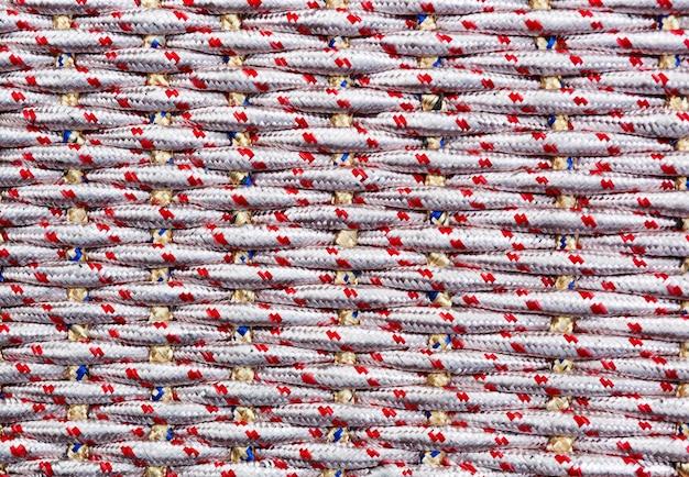 Naadloos patroon van vlechten; eindeloze textuur. textuur voor achtergrond; decor. lijnpatroon breien.
