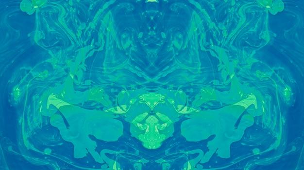 Naadloze etnische caleidoscoop patroon abstracte vloeibare verf