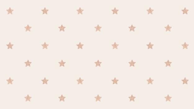 Naadloze glittery gouden sterren