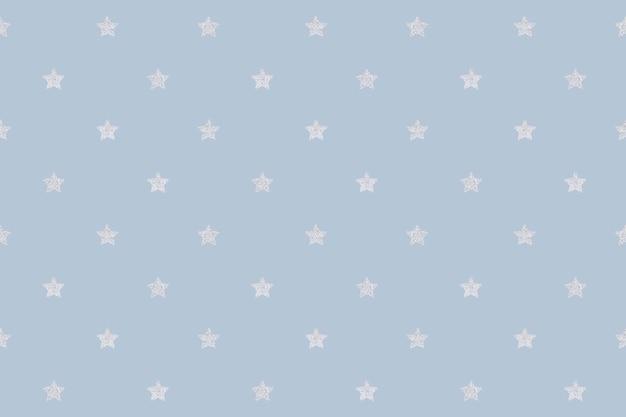 Naadloze glittery zilveren sterren ontwerpmiddel
