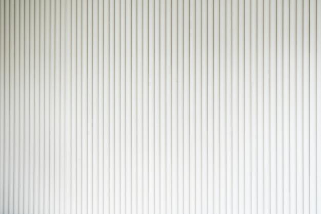Naadloze golfplaten gevel in witte kleur