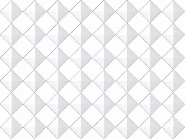 Naadloze moderne diagonale vierkante rooster patroon keramische tegels muur achtergrond.