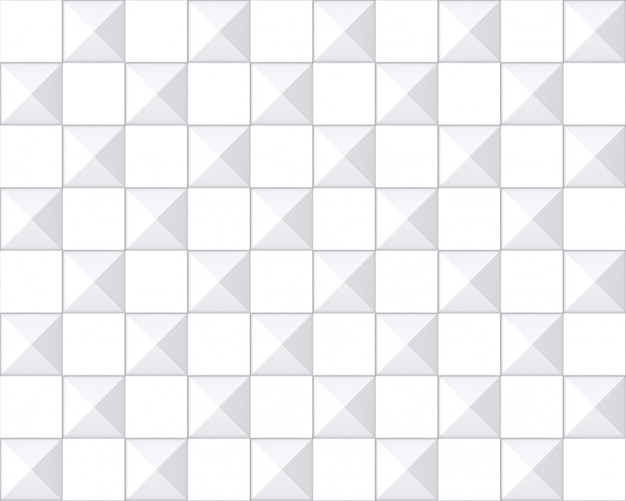 Naadloze moderne vierkante grid patroon keramische tegels muur achtergrond.