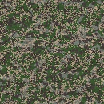 Naadloze tegelbaar textuur van gedetailleerde camouflage patroon stof