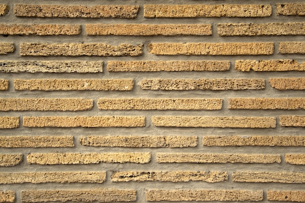 Naadloze textuur van bruine steen