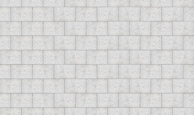 Naadloze witte bakstenen muur textuur moderne achtergrond.