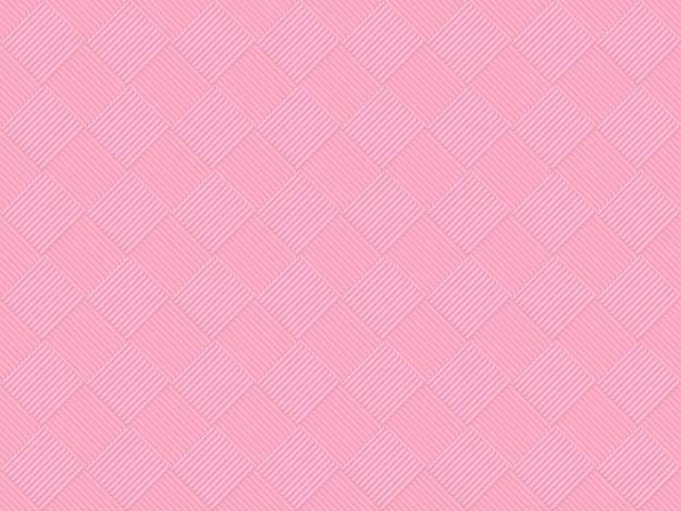 Naadloze zoete zachte roze kleurtoon raster vierkante kunst patroon tegel voor elke ontwerp muur achtergrond.