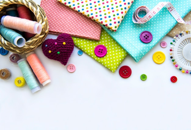 Naai-accessoires en stof