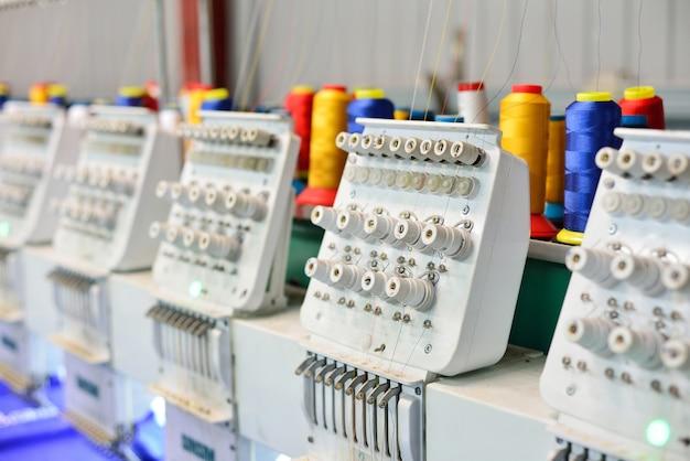 Naaimachines voor borduurwerk