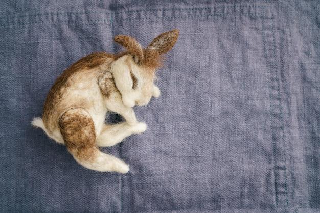 Naaldvilten konijn