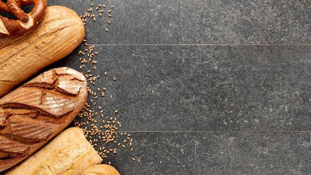 Naar huis gebakken brood met exemplaarruimte
