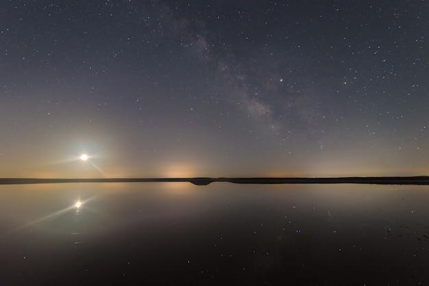 Nacht in de lagune