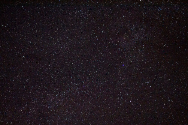 Nachtelijke hemel met sterren