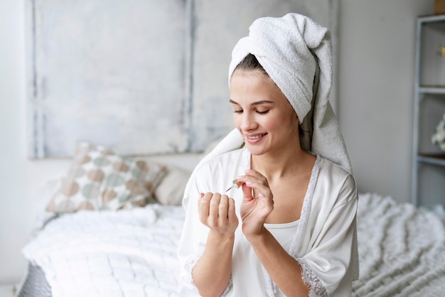 Nagelverzorging manicure proces