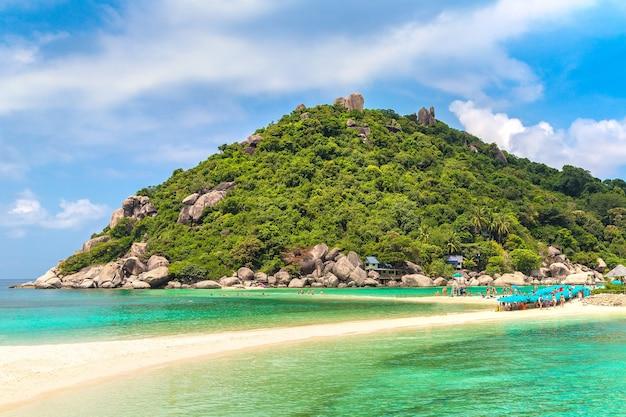 Nang yuan-eiland, koh tao, thailand