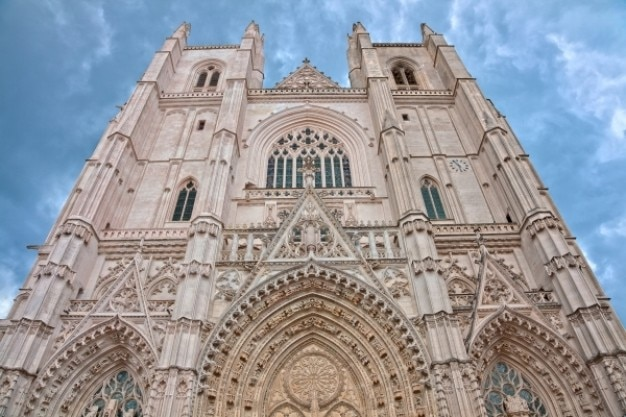 Nantes kathedraal hdr