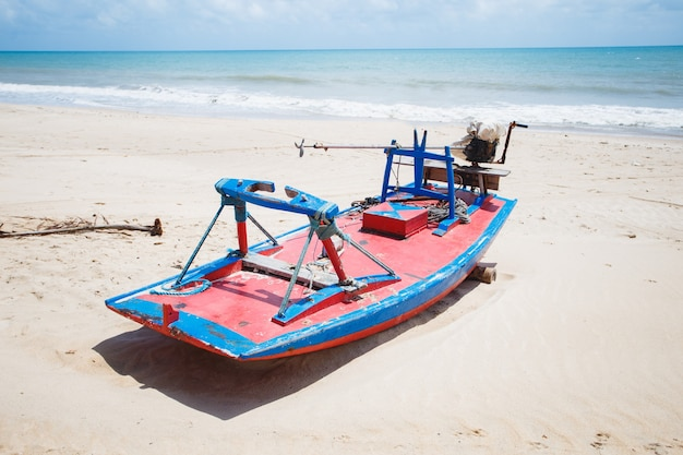 Natal, rio grande do norte, brazilië - 12 maart 2021: perobas-strand in maracajau in rio grande do norte