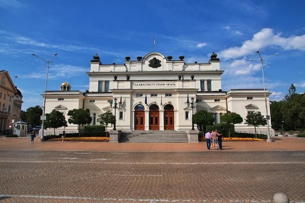 Nationaal congresgebouw in sofia, bulgarije