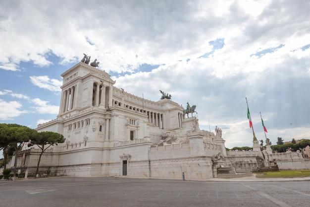Nationaal monument de vittoriano of altare della patria
