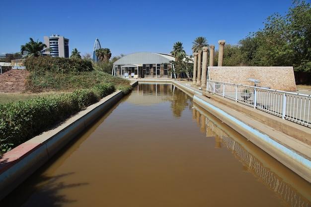 Nationaal museum sudan in khartoem