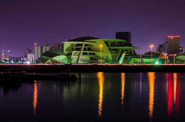 Nationaal museum van qatar in cornish