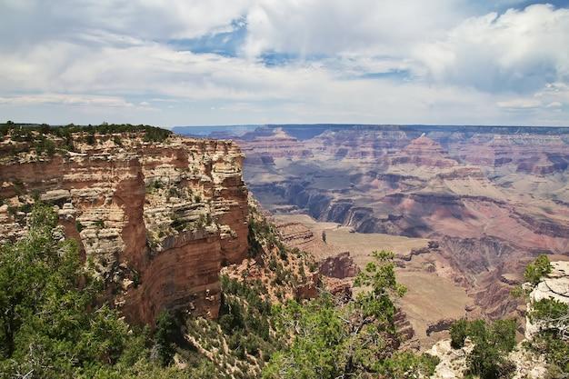 Nationaal park grand canyon in arizona van de verenigde staten
