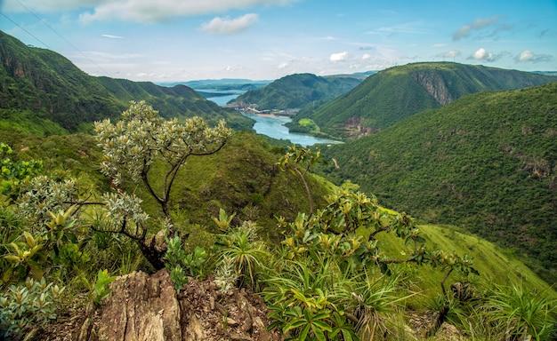 Nationaal park serra canastra brazilië