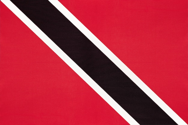 Nationale de stoffenvlag van trinidad en van tobago